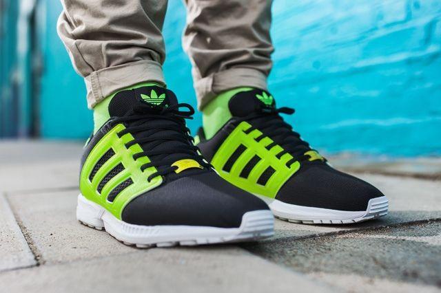 Adidas Originals Zx Flux 2 0 Tonal Neon 14