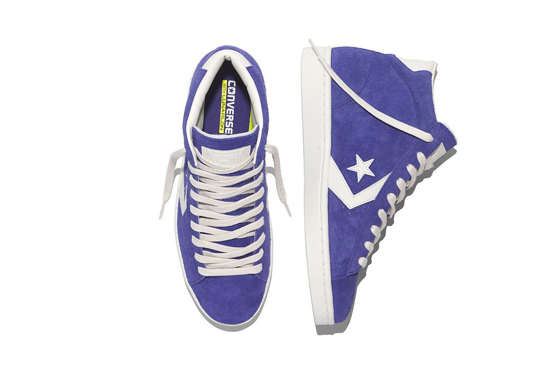 Converse Pro Leather 76 Vintage Suede Pack 4