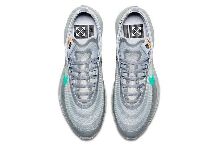 Off White X Nike Air Max 97 Menta 3