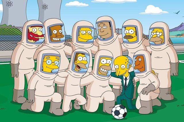 The Simpsons Fifa World Cup
