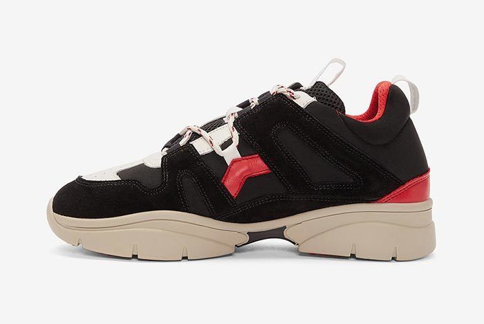 Isabel Marant Kindka Mountain Sneaker Black 2