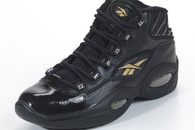 Reebok Question Black Gold New Years Eve Angle 1