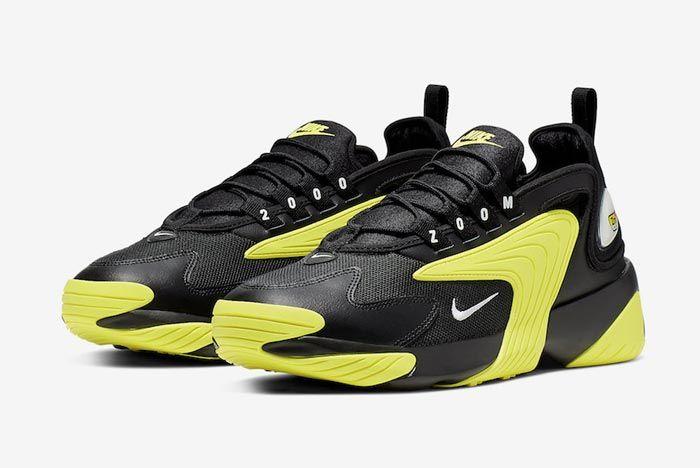 Nike Zoom 2K Dynamic Yellow Black Pair