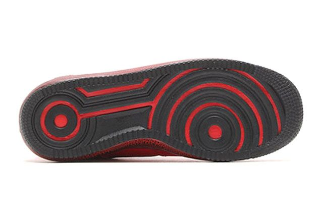Nike Lunar Force 1 University Red Black Sole