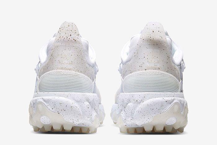Undercover Nike React Presto White Heel Shot