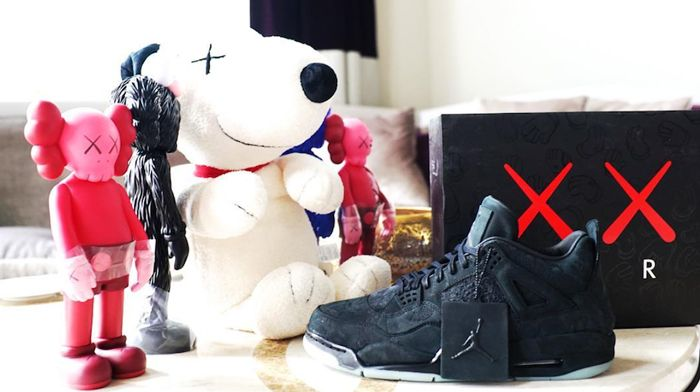 Kaws Gifts Dj Khaled Friends Family Air Jordan 4S Wider Release Rumoured3