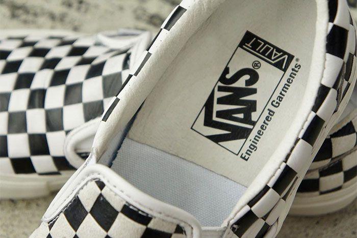 Engineered Garments Vans Vault Slip On Bw 1