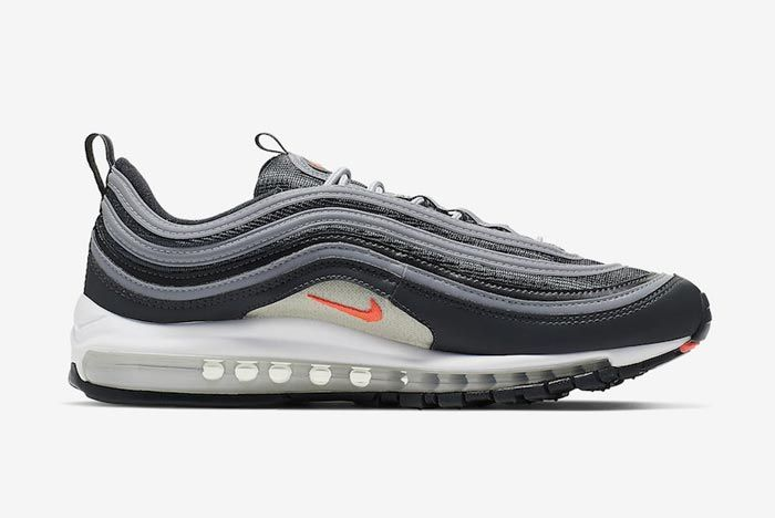 Nike Air Max 97 Anthracite Crimson Medial