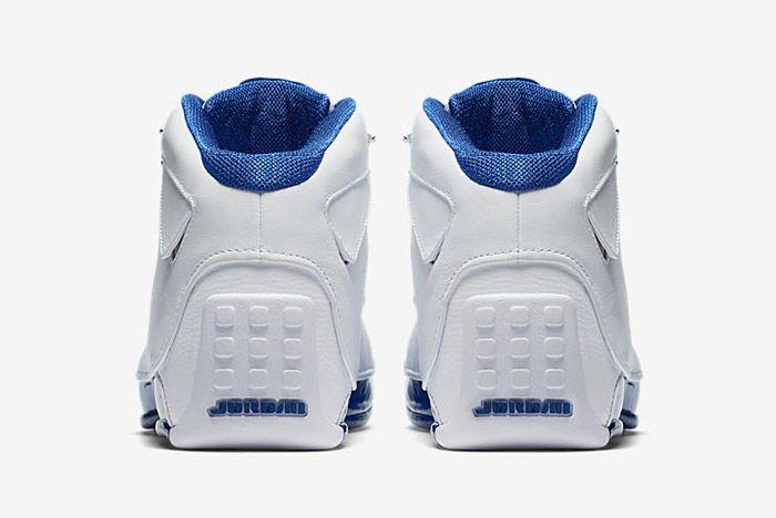 Air Jordan 18 White Sport Royal 2018 Retro Sneaker Freaker 1