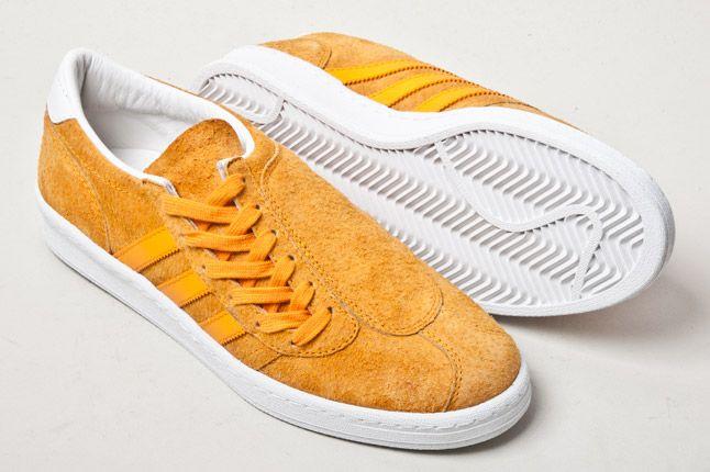 Adidas Campus Football Orange Sole 1