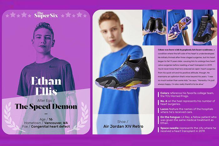 Nike Doernbecher Ethan Design