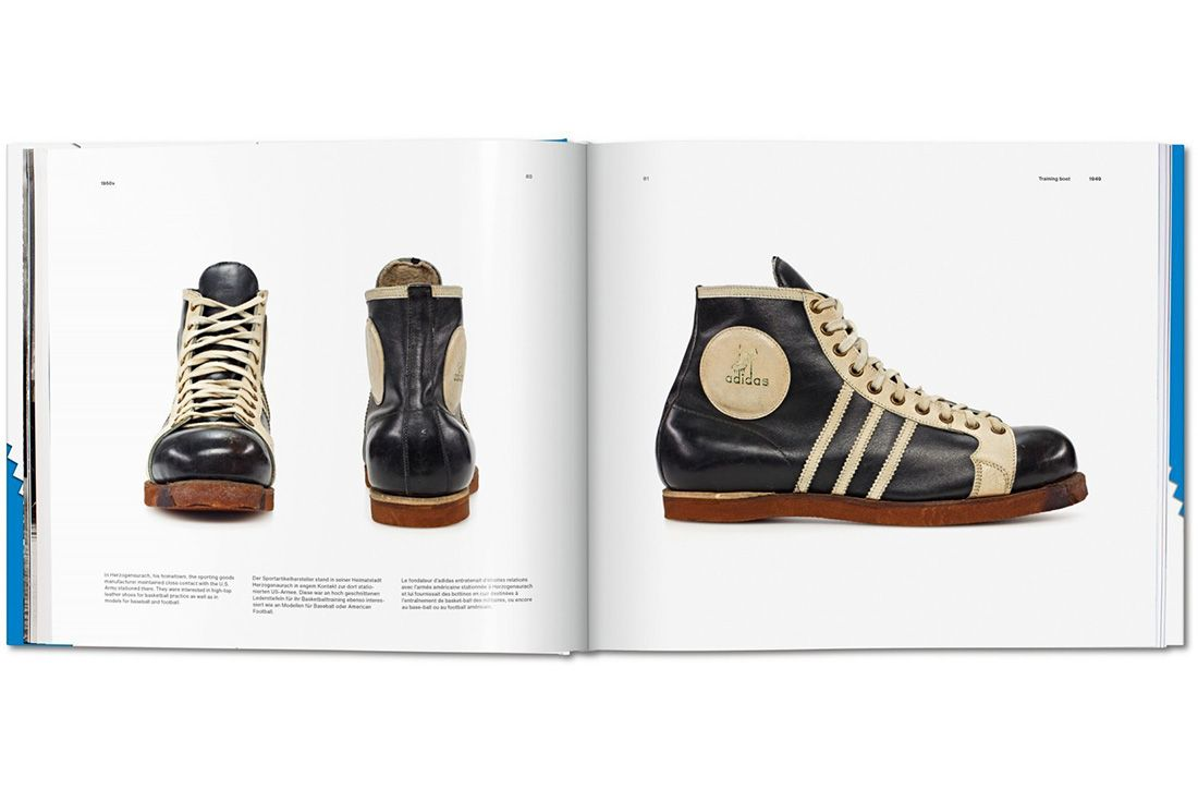Adidas Taschen Book High Boots