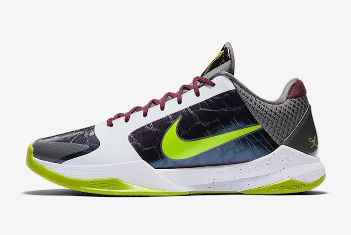 Nike Kobe 5 Protro Chaos Joker Cd4991 100 Lateral