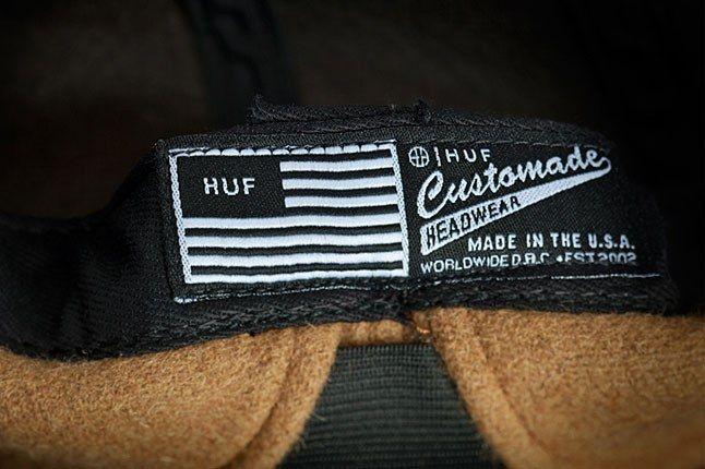 Huf Custommade Label 1
