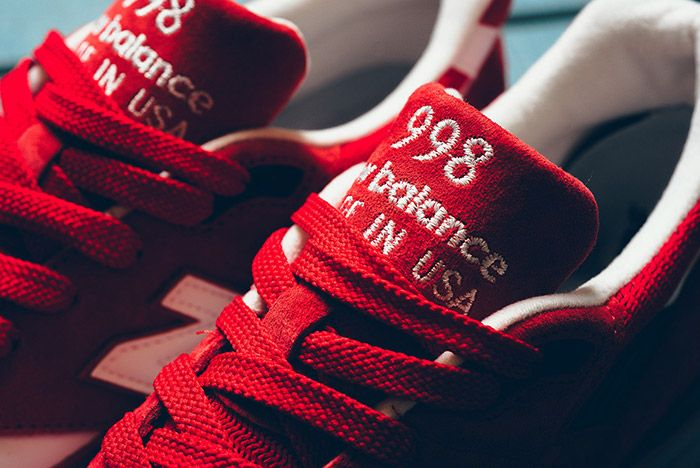 New Balance 998 Made In Usa Red 6