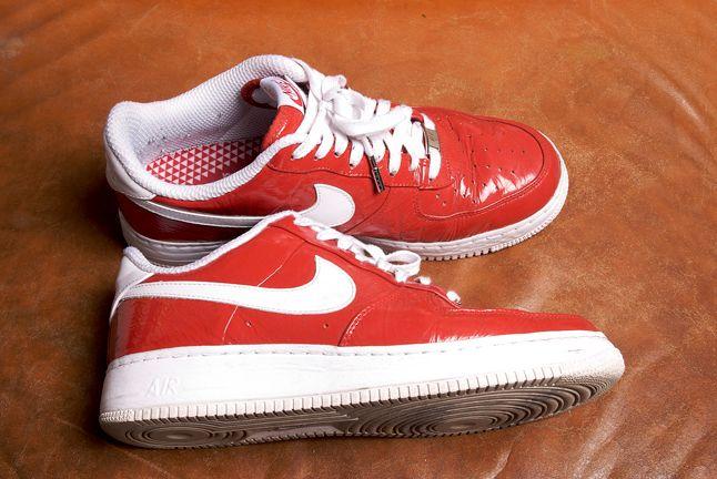 Nike Af1 Red 1