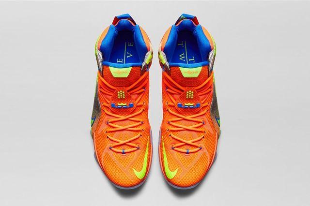 Nike Lebron 12 Six Meridians Bump 7