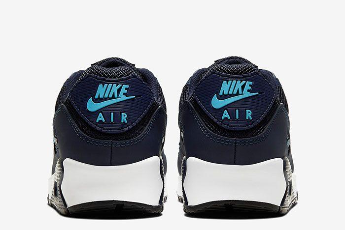 Nike Air Max 90 Cv1634 400 Heel