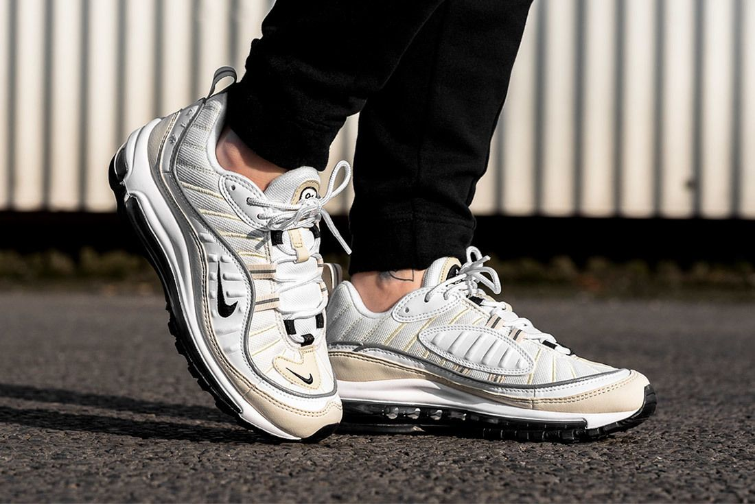 An On-Foot Look at the Air Max 98 'Sail' - Sneaker Freaker