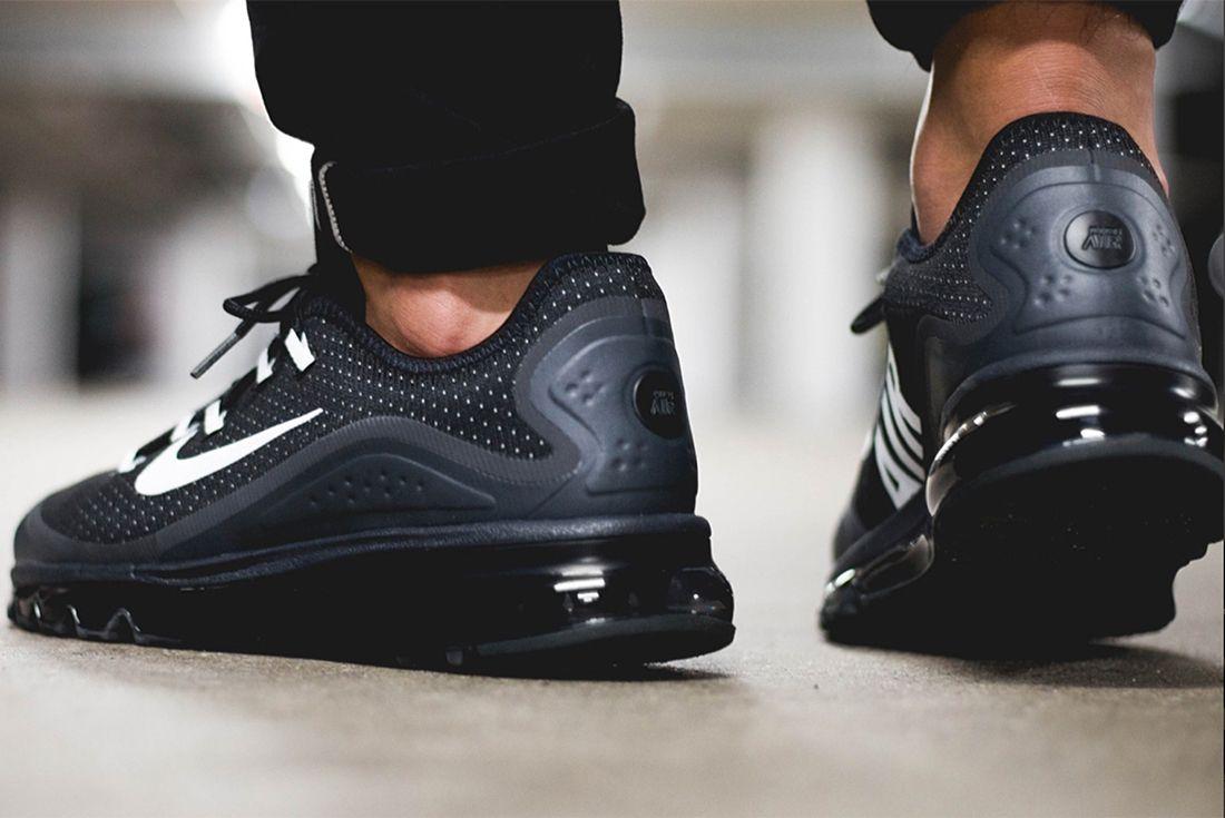 Nike Air Max More Black White2