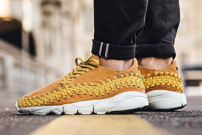 Nike Air Footscape Woven Desert Ochre 2