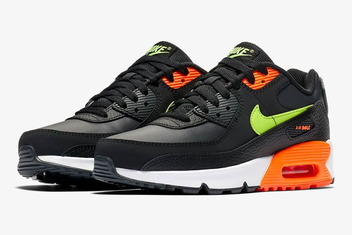 Nike Air Max 90 Orange Green Toe