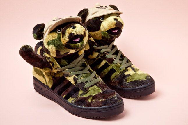Adidas Originals Js Camo Bear Pair 1