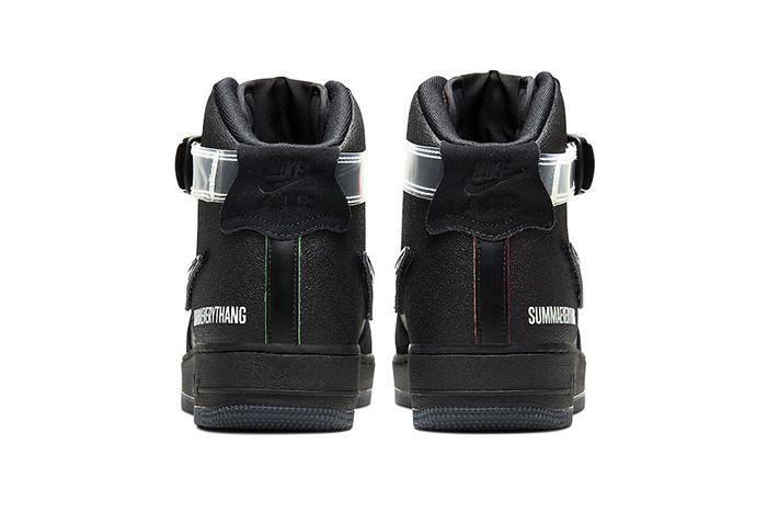 Lauren Halsey Nike Air Force 1 High Cu3052 001 Release Date Heel