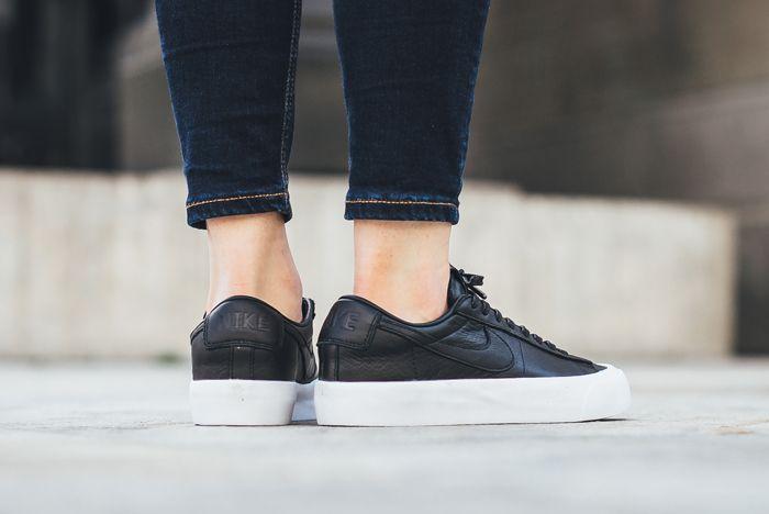 Nike Blazer Low Studio On Foot 5