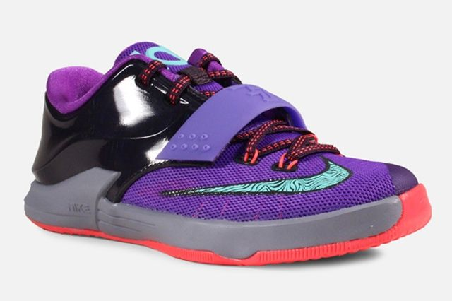 Nike Kd 7 Ps Purple Bleached Turquoise 2
