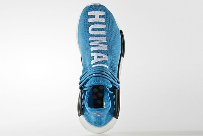 Pharrell Williams X Adidas Hu Nmd Blue7