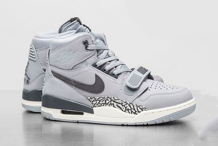 Jordan Legacy 312 Wolf Grey Light Graphite Sail Av3922 002