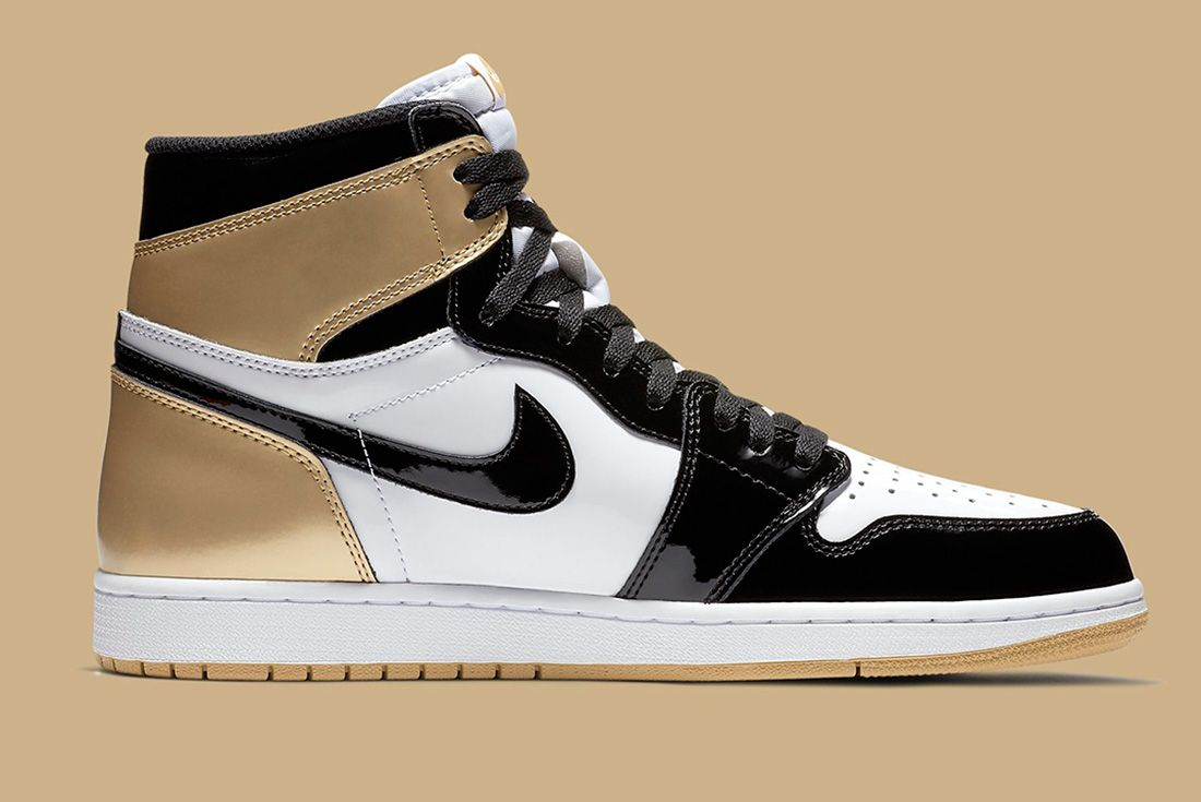 33 Gold Top 3 Air Jordan 1 Sneaker Freaker