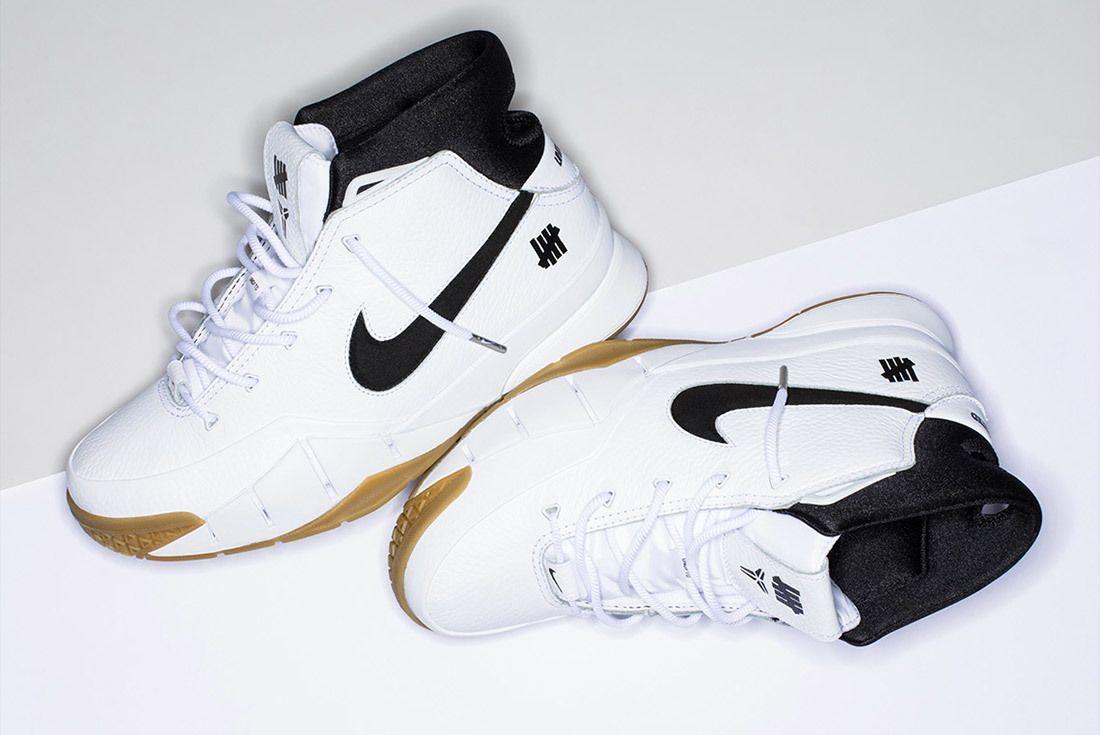 Nike Undefeated Zoom Kobe 1 Proto White 5