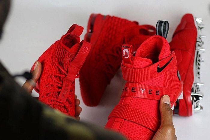 Nike Lebron 15 Buckeye 2