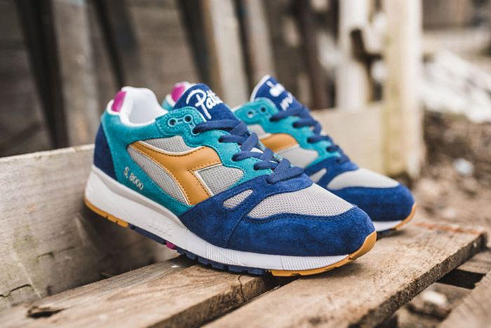 Diadora Patta S8000 Pagodablue Full Side