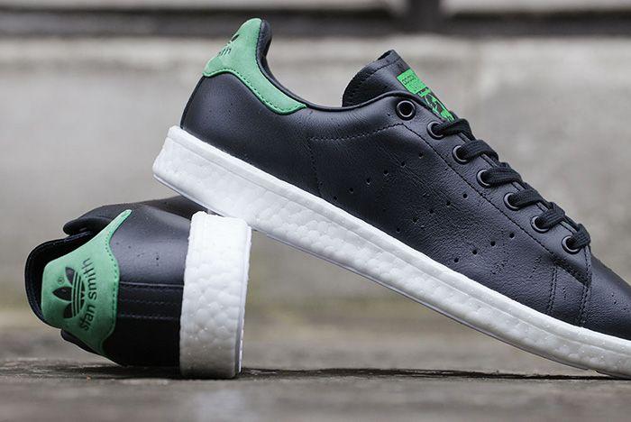 Adidas Originals Stan Smith Boost Black 2