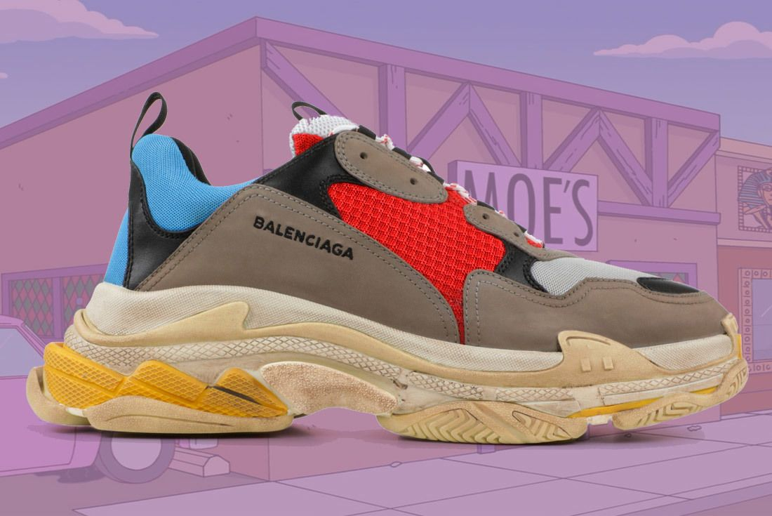 Material Matters Dad Shoes Balenciaga Triple S 1