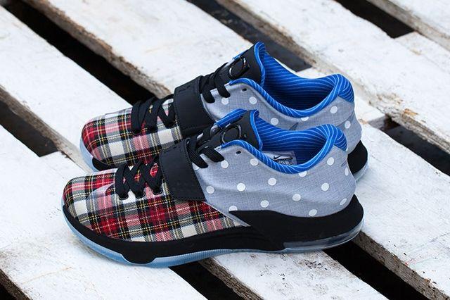 Nike Kd7 Ext Plaid Polka Dots 3