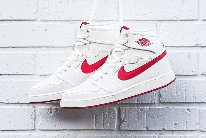Air Jordan 1 Ko High White Red Sail Og 2