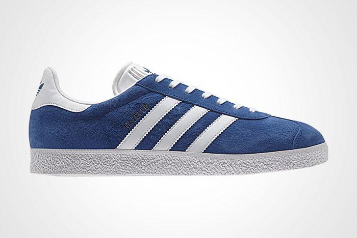 Adidas Gazelle Vintage Suede Core Blue Twit