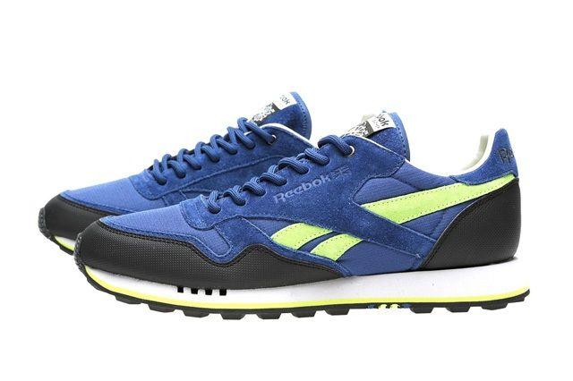 Reebok Classic Trail Blue Black Yellow 1