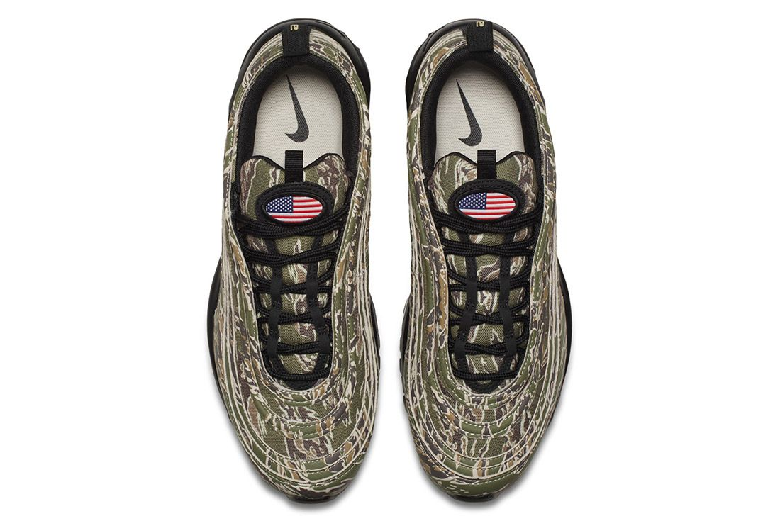 Nike Air Max 97 Country Camo Usa Sneaker Freaker 5