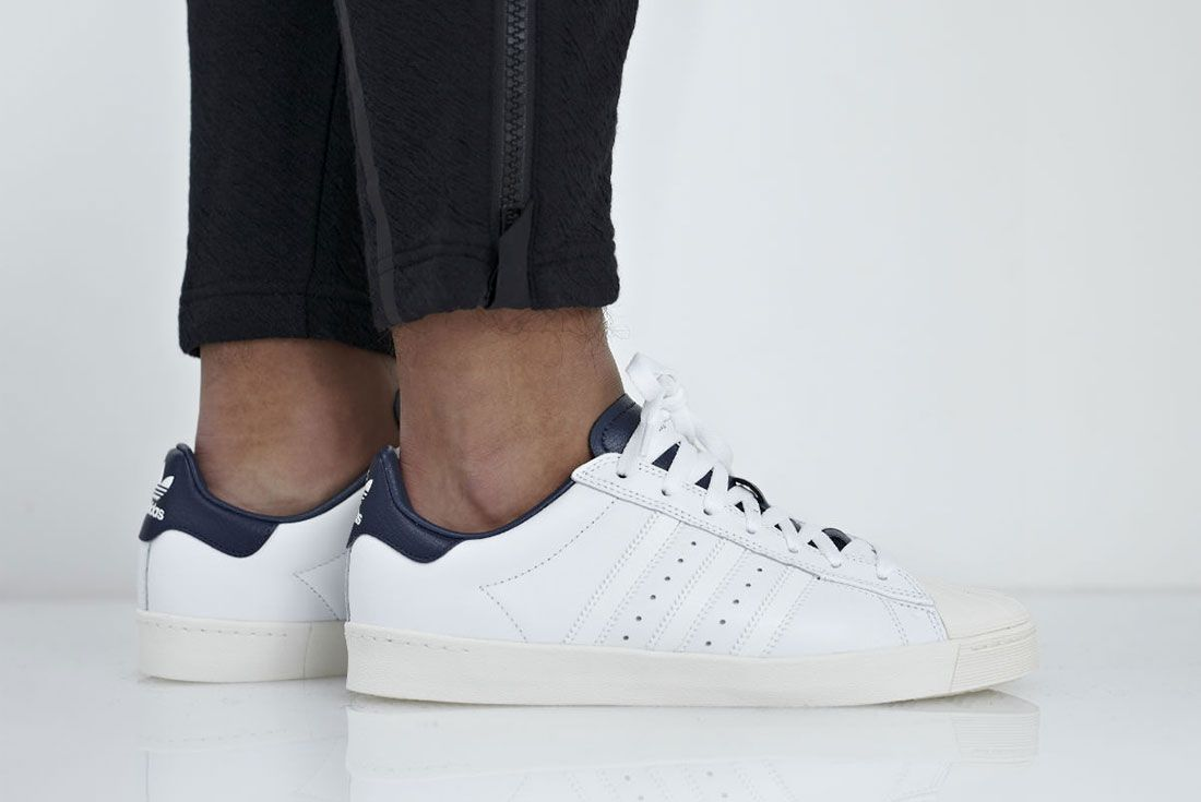 Adidas Superstar Vulc Adv White 1