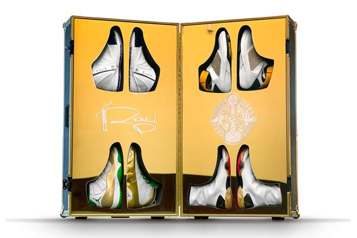 Ray Allen Hall Of Fame Set