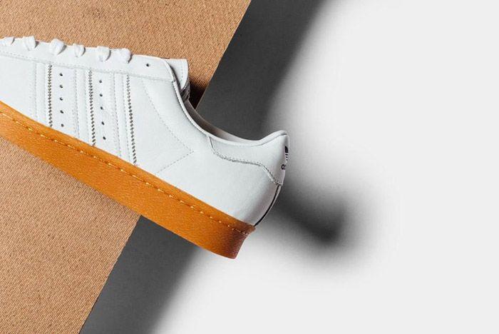 Adidas Originals Superstar 80 S Dlx White Gum 2