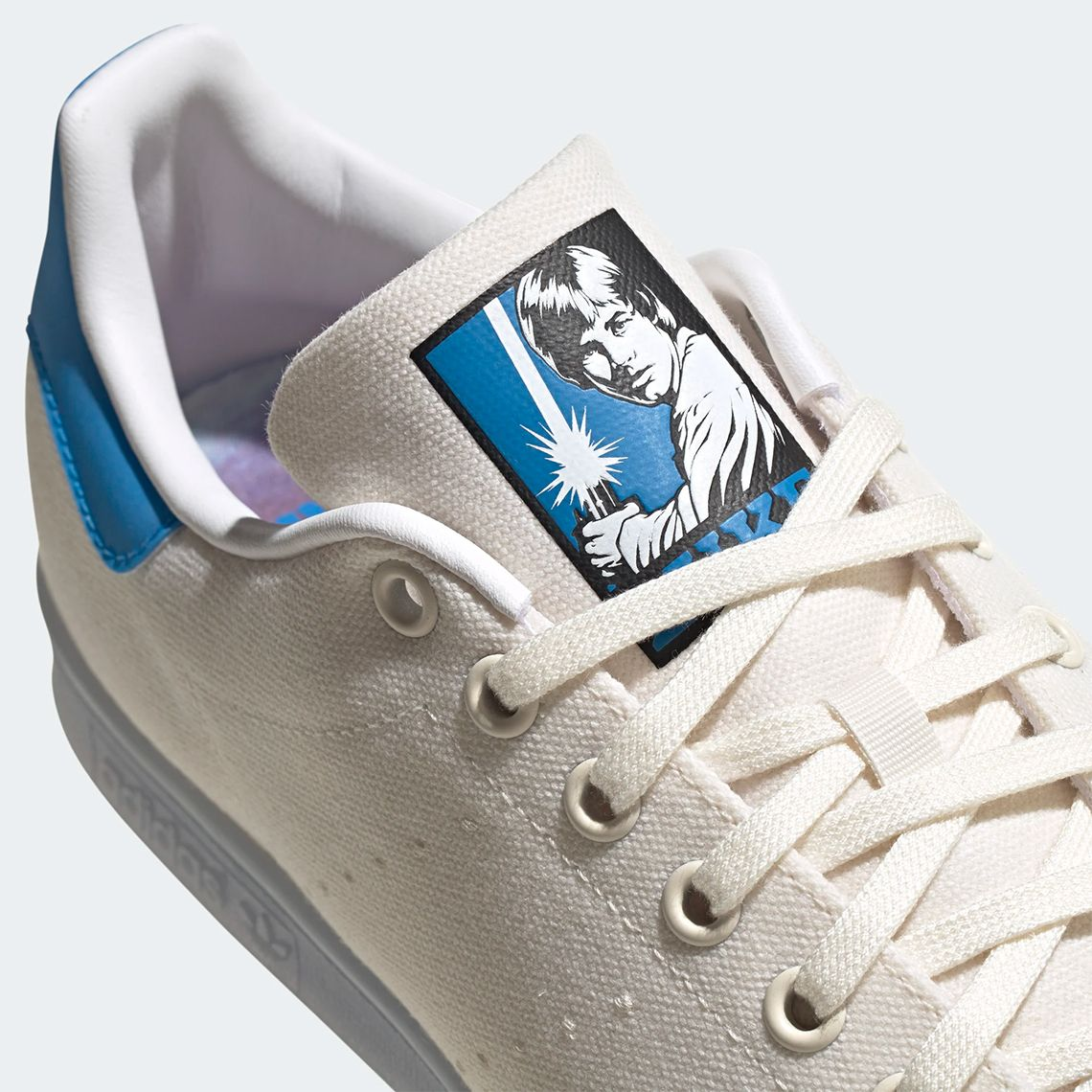 Star Wars x adidas Stan Smith Luke Skywalker Tongue
