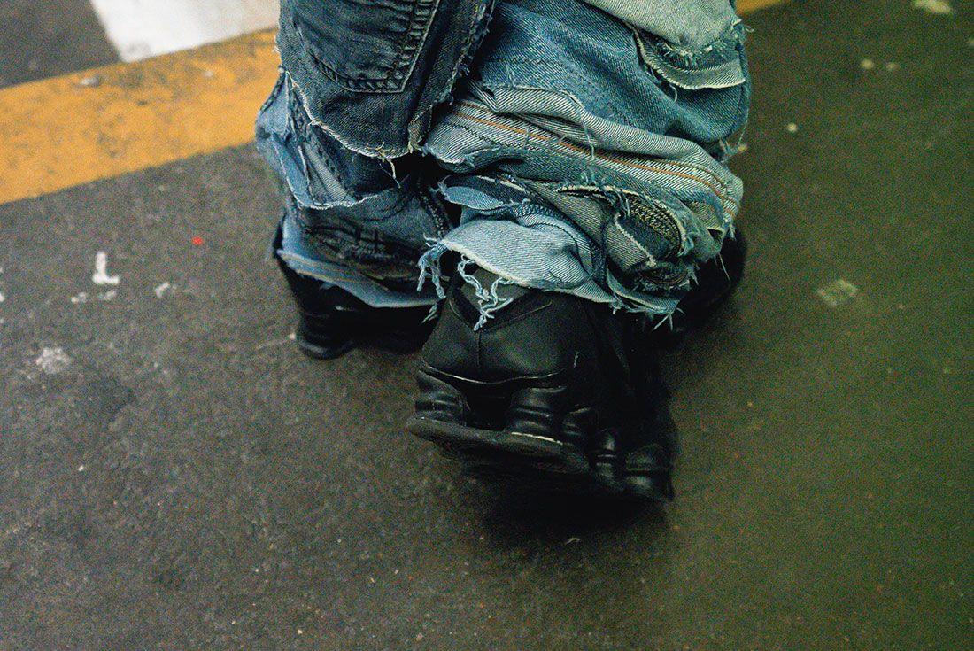London Fashion Week Mens On Foot Sneaker Freaker Pics18