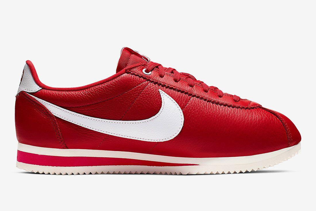 Stranger Things Nike Cortez Red Og Collection Ck1907 600 Medial Side Shot