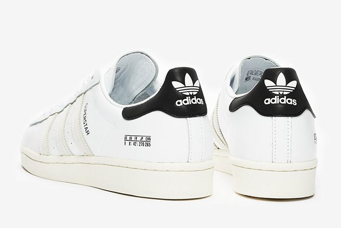 Adidas Superstar Misplaced Size Tag Fv2808 White Rear Angle